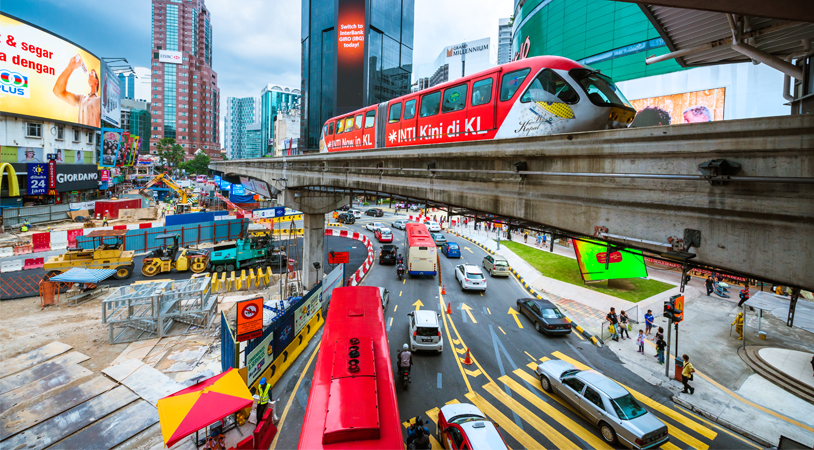 CBD Area Concept Temporary Traffic Management Schemes for KL-KVMRT Line 1